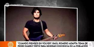 Coronavirus en Perú: Pedro Suárez Vértiz adapta canción para crear conciencia en la población