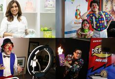 Un show que debe continuar: ¿Cómo enfrentan la pandemia los chefs pasteleros, magos, payasos y animadores?   FOTOS