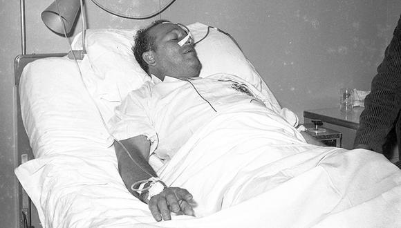 El 7 de enero de 1965, Lolo Fernández fue sometido a una operación de emergencia en el Hospital del Empleado (hoy Hospital Edgardo Rebagliati), ubicado en Jesús María. El cañonero sufrió una peritonitis purulenta cuando estaba reunido junto a sus familiares dentro de su domicilio. (Foto: GEC Archivo Histórico)