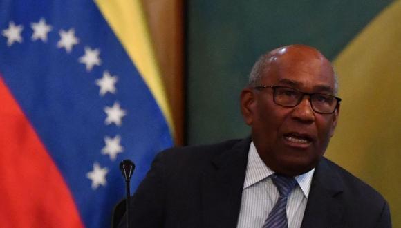 El ministro de Educación de Venezuela, Aristóbulo Isturiz, en una imagen del 20 de junio del 2019. (Foto de Yuri CORTEZ / AFP).