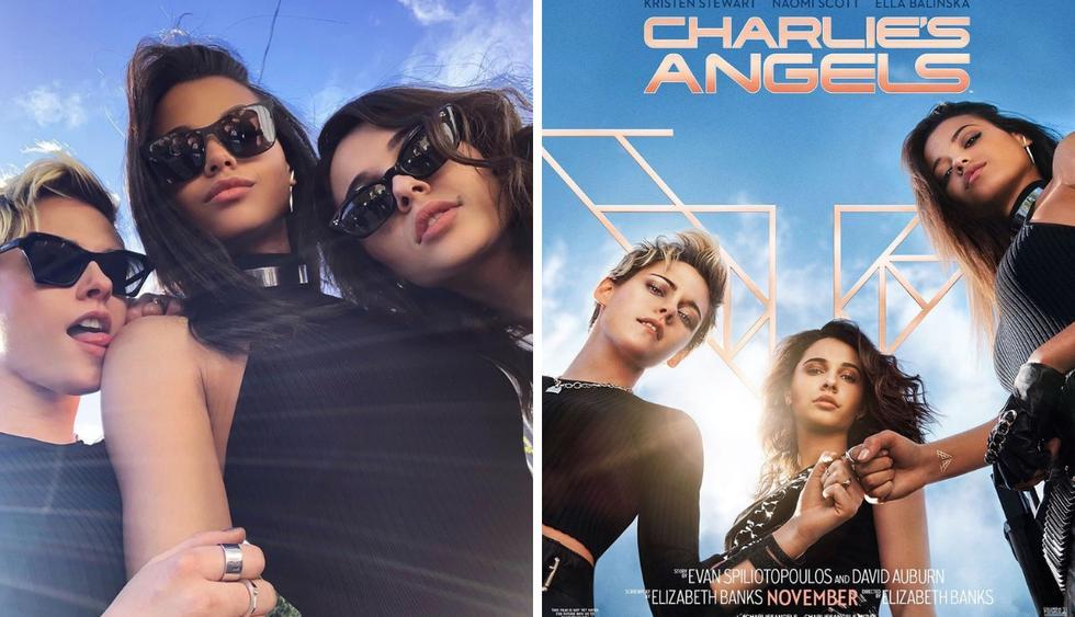 """""""Los Ángeles de Charlie"""": ¿Quiénes son Kristen Stewart, Naomi Scott y Ella Balinska? (Foto: Instagram)"""
