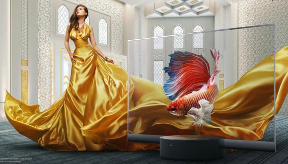 El MI TV Lux: Transparent Edition será un televisor OLED transparente de 55 pulgadas. (Difusión)