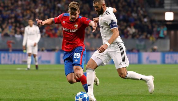 Real Madrid vs. CSKA Moscú EN VIVO ONLINE vía ESPN: se enfrentan en Rusia por la Champions League. (Foto: Reuters)