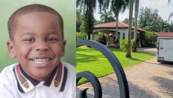 Elijah LaFrance, que iba a cumplir cuatro años en unos días, estaba celebrando su cumpleaños con otro niño en una casa en Florida, según sus familiares citados por medios locales. (Captura de video/Univisión).