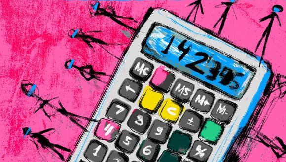 La calculadora está basada en proyecciones del Gobierno y en datos del Minsa. (Ilustración: Giovanni Tazza)