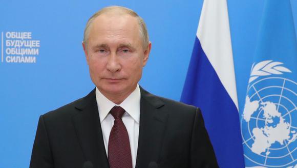 Putin se pondrá la vacuna rusa contra el coronavirus antes de viajar a Corea del Sur. (Foto: Mikhail Klimentyev / Sputnik / AFP).