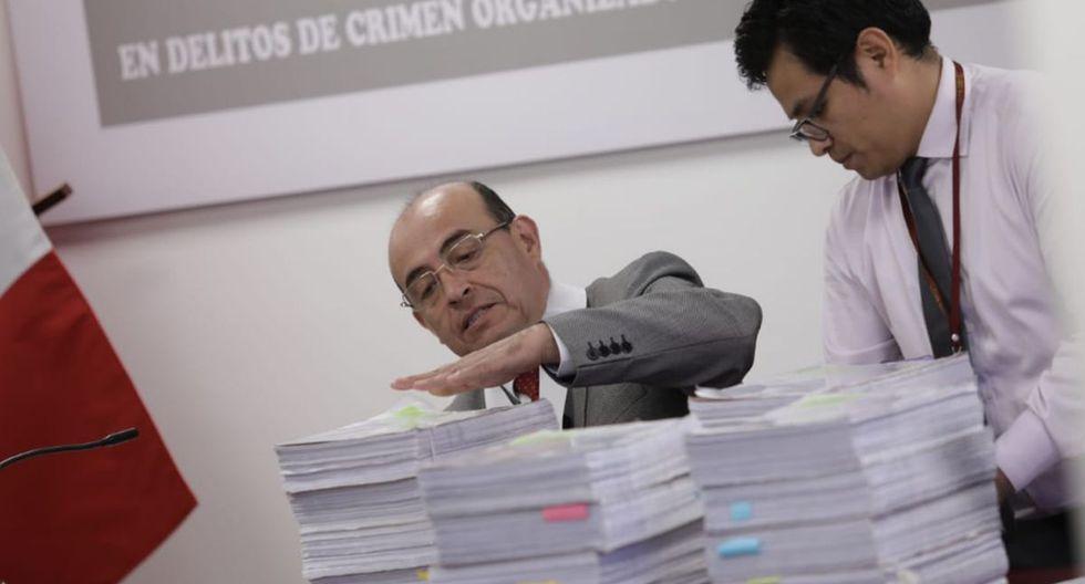 Juez Víctor Zúñiga evalúa pedido de prisión preventiva de 36 meses contra Keiko Fujimori (Foto: GEC)