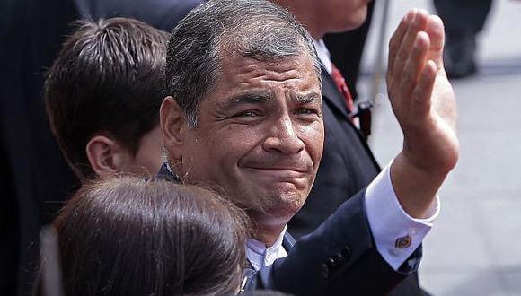 Desde que Moreno asumió el poder el pasado 24 de mayo, Correa ha sido muy crítico con algunas de sus medidas e incluso le ha acusado de deslealtad. (Foto: AFP)