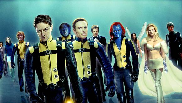 """X Men First Class"", primera cinta de la actual saga de los mutantes de Fox. Foto: Difusión."