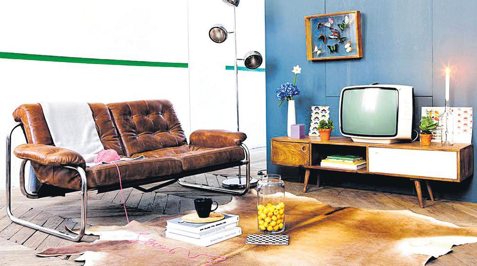 Un elemento que privilegia el concepto retro es el uso de colores vivos y llamativos.