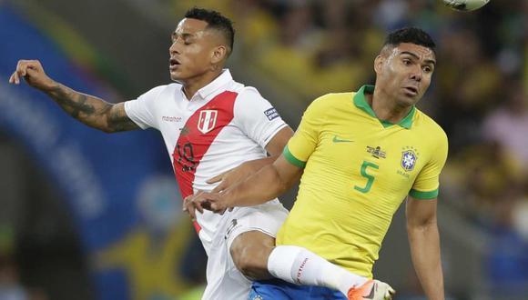 Casemiro comentó sobre el partido entre Perú y Brasil en las Eliminatorias. (Foto: AP)