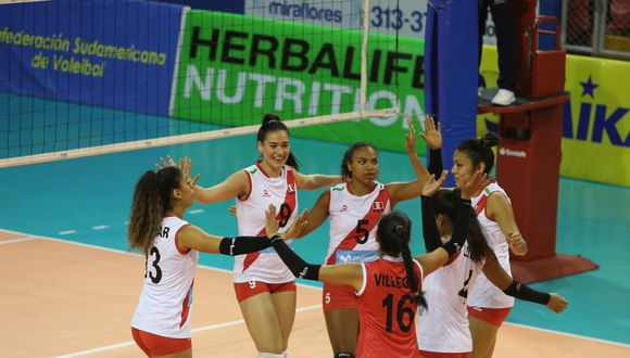 La selección nacional de vóley debuta este lunes ante Colombia en los Juegos Suramericanos Cochabamba 2018. (Foto: Itea Photo)