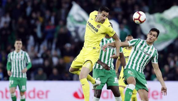 Betis iguala a uno contra Villarreal. (Foto: EFE)