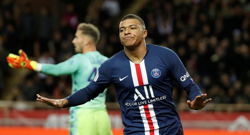 Mbappé convirtió el 1-0 tras asistencia de Di María | Foto: Reuters