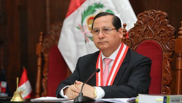 Juez supremo de investigación preparatoria del Poder Judicial, Hugo Núñez Julca, analizará el lunes el pedido contra Tomás Gálvez