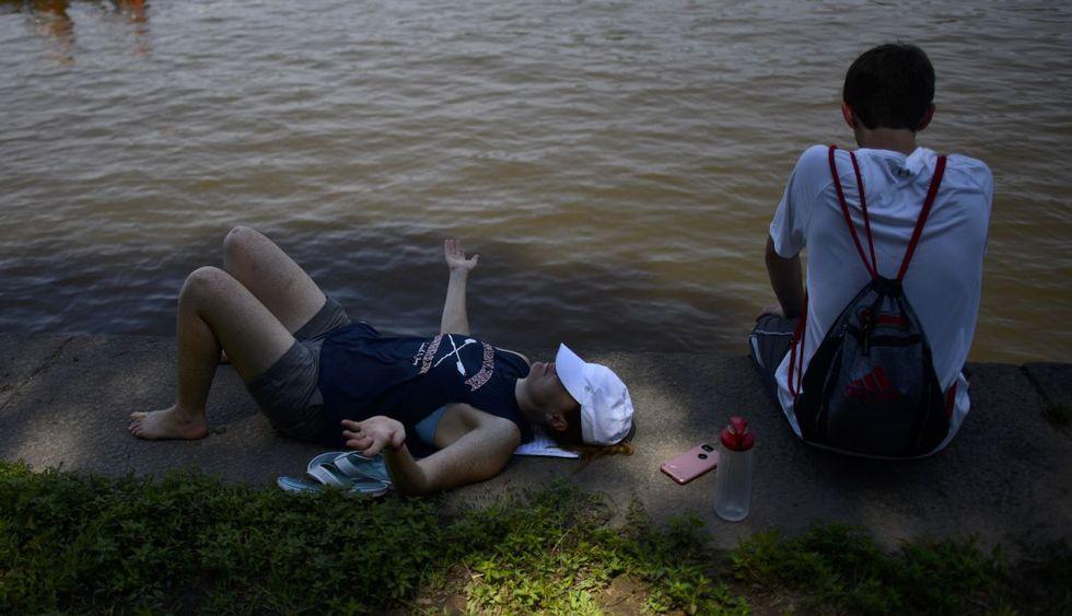 Ola de calor afecta a Estados Unidos, con pronósticos de 45°C.(Foto: AFP)