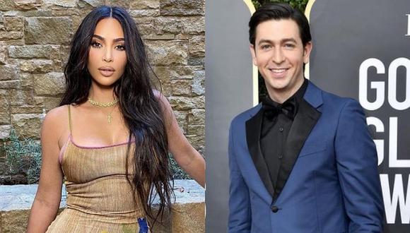 """El actor Nicholas Braun, de la serie de televisión 'Succession', anima a la celebridad Kim Kardashian a """"conocer nuevas personas"""" tras su divorcio. (Foto: @kimkardashian @nicholasbraun / Instagram)"""