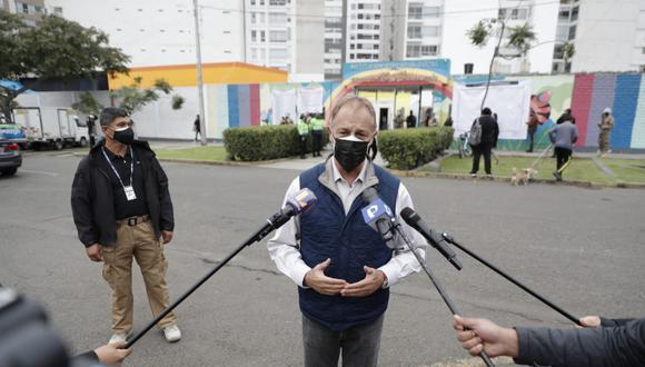 """Muñoz consideró que se debe """"respetar"""" la conformación del Sistema Nacional de Seguridad Ciudadana. (Foto / Giancarlo Ávila / @photo.gec)"""