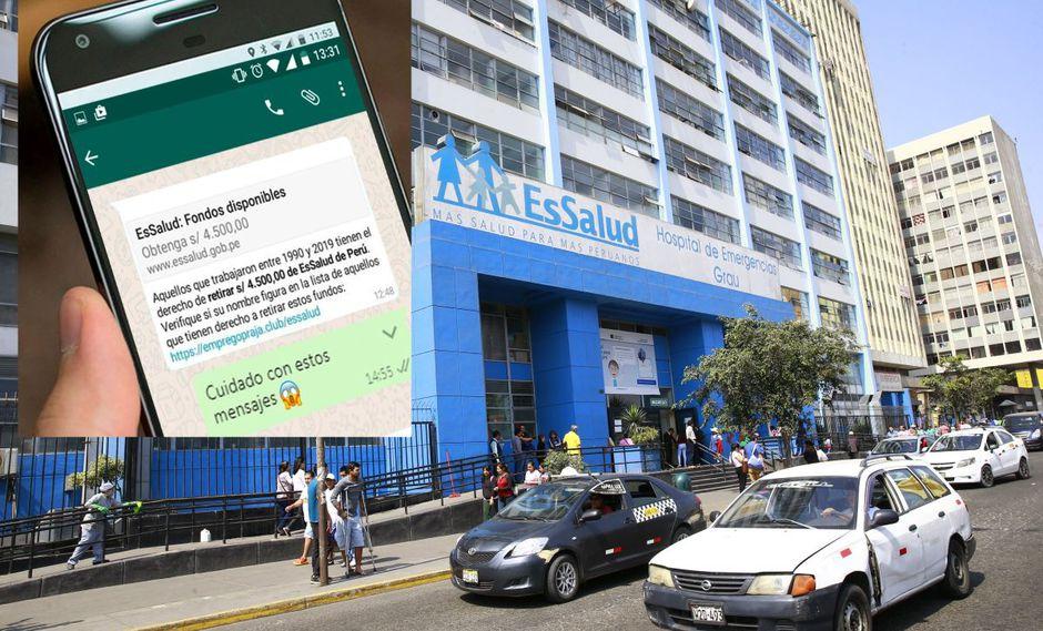 Seguro Social advierte de estafas con página web falsa (Essalud/ Archivo)