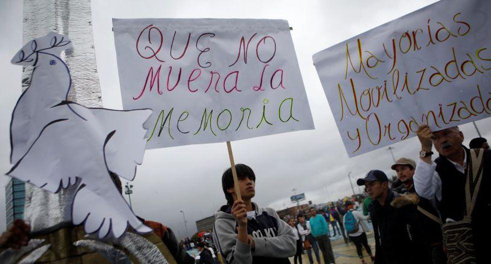 Al menos 331 activistas han sido asesinados desde 2016, cuando el gobierno saliente de Juan Manuel Santos firmó la paz con la otrora guerrilla comunista, y el 1 de agosto, según la Defensoría del Pueblo (ombusdman). | Foto: Reuters