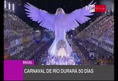 Brasil: carnaval de Río de Janeiro 2020 durará 50 días