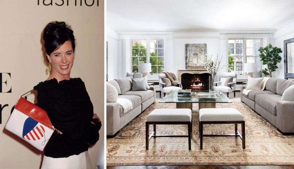 El departamento que alguna vez perteneció a la diseñadora de moda Kate Spade, quien murió en 2018, está a la venta por US$ 5.8 millones. (Foto: Realtor)