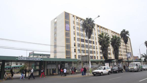 El Hospital Daniel Alcides Carrión tiene una deuda de 60 millones de soles. (GEC)