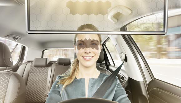 El Bosch Virtual Visor fue presentado en el CES de Las Vegas. (Foto: Bosch)