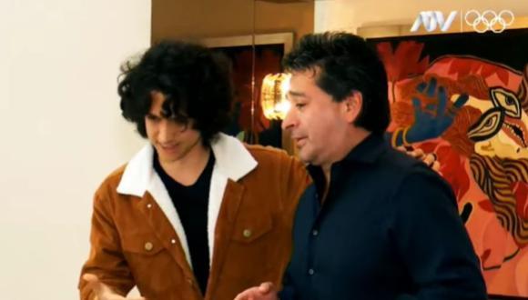 Vasco Madueño y Alfredo Zambrano se juntarán par aun show virtual el 29 de julio. (Foto: Captura ATV)