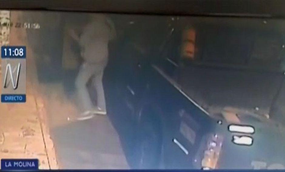 El suceso fue captado por las videocámaras de seguridad de la zona. (Foto: Captura/Canal N)