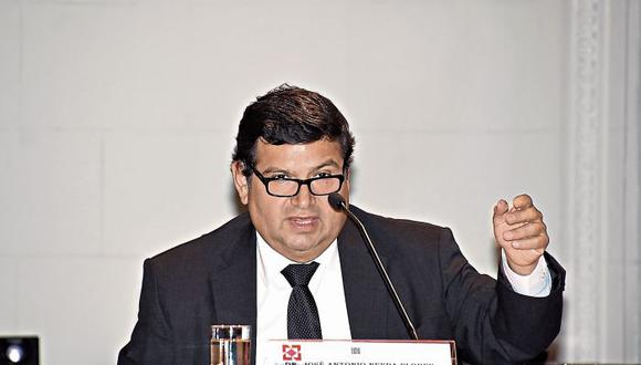 Juez supremo José Neyra