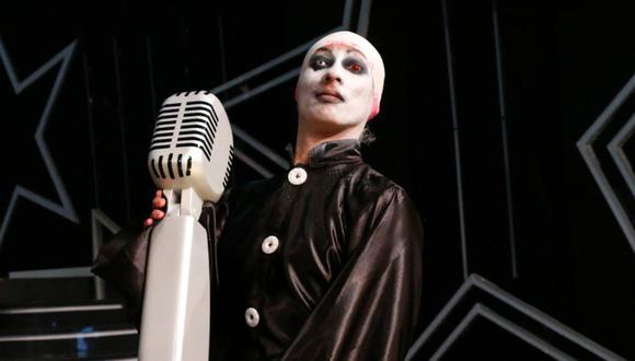 """Mike Bravo, imitador de Marilyn Manson, se presentó en el programa """"Amor y Fuego"""" para hablar sobre su salida de """"Yo Soy"""" . (Foto: @yosoyperu_)"""