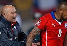 Prensa italiana revela que Sampaoli quiere fichar a Arturo Vidal en el Olympique de Marsella