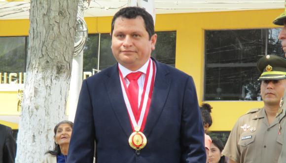 El gobernador regional de Piura, Servando García Correa, fue elegido este viernes como nuevo presidente de la Asamblea Nacional de Gobiernos Regionales (ANGR) por el periodo de un año. (Foto: Carlos Chunga).