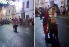 ¿Qué pasó con el oso atado a un poste en España? [VIDEO]