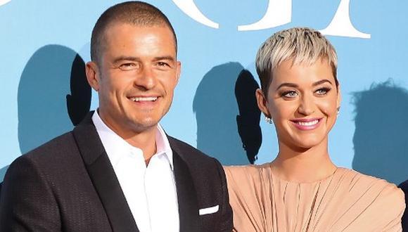 Katy Perry pagó una cuantiosa suma para tener una cita con su pareja, Orlando Bloom. (Foto: AFP)
