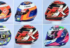 Fórmula 1: conoce los cascos que usarán los pilotos durante esta temporada | FOTOS