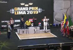 Realizan torneo de levantamiento de pesas Grand Prix Lima 2019