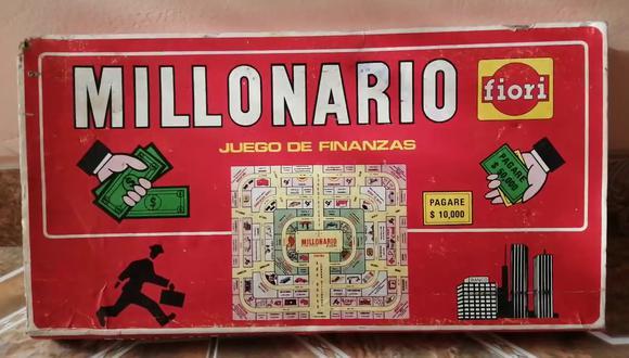Millonario, el juego de mesa de Fiori, fue creación del peruano Eduardo Larrabure del Campo. Se vendió hasta en Estados Unidos. (Foto: Rincón Anticuario).