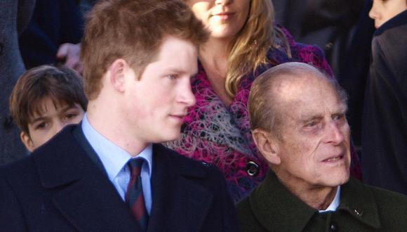 Enrique de Sussex y Felipe de Edimburgo en 2009. (Foto: AFP)