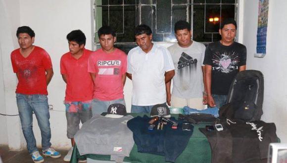 Piura: 6 hampones que iban a asaltar municipio fueron detenidos