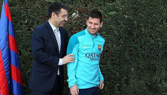 Barcelona: Bartomeu fue presidente del club catalán desde mediados del año 2015. Ante fue presidente interino, en reemplazo de Sandro Rosell. (Foto: Agencias).