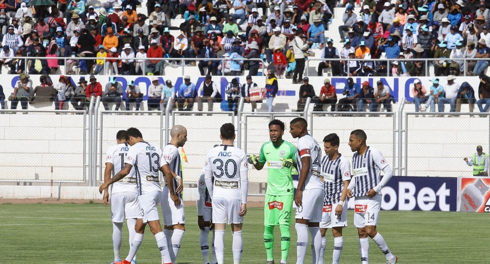 Alianza Lima perdió 4-1 ante Binacional en la final de ida de la Liga 1. (Foto: Jesús Saucedo / GEC)