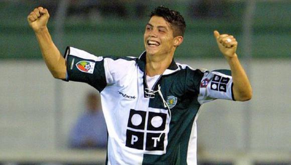 Cristiano Ronaldo jugó 31 partidos con Sporting de Lisboa y marcó cinco goles. (Foto: Getty Images)