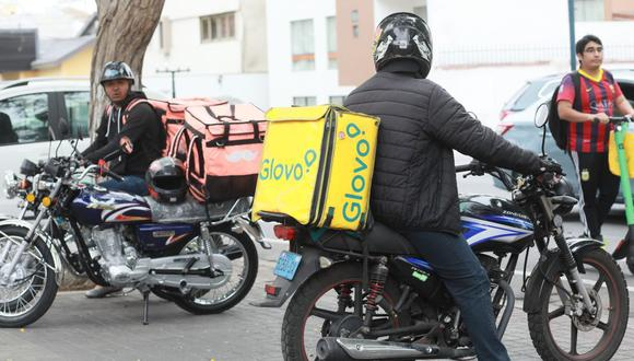 Indecopi participará de operativos que realicen municipios distritales para fiscalizar a empresas que brindan servicios de delivery por aplicativos. (Foto: Juan Ponce / GEC)