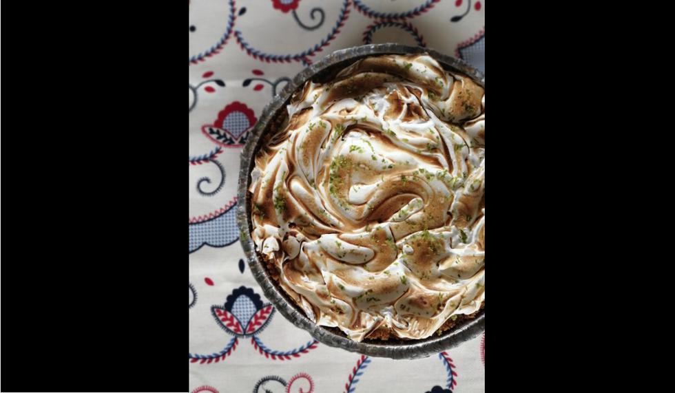 Pie de limón de KU Artisan Baker.