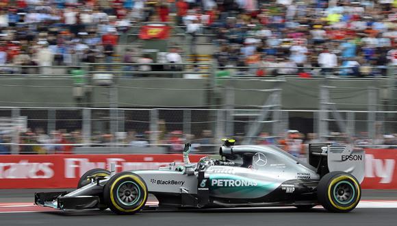 Fórmula 1: Nico Rosberg se impuso en el GP de México