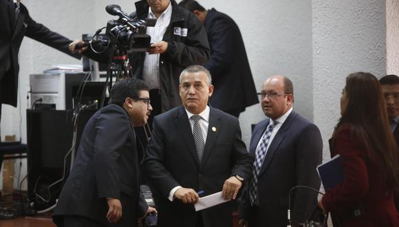 Congresista de Podemos Perú (PP), Daniel Urresti, participó por videconferencia de la audiencia de inicio de juicio oral en su contra por el caso Hugo Bustíos. No obstante, la misma fue reprogramada. (Foto: GEC)