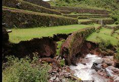 Cusco: Colapsa andenería inca de parque arqueológico de Pisac por intensas lluvias