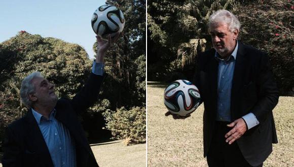 Plácido Domingo y su pasión poco conocida por el fútbol